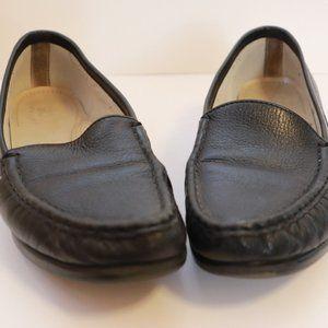 SAS Black Tri Pad Comfort Penny Loafer Shoes